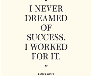 quote, Dream, and success image
