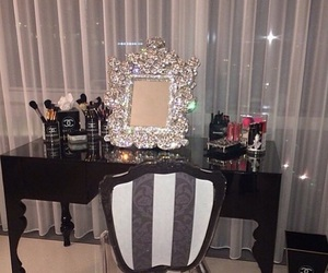 luxury, chanel, and mirror image