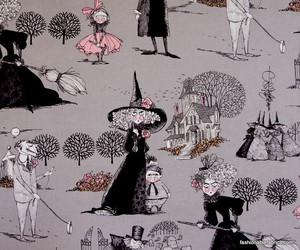 background, Halloween, and pattern image