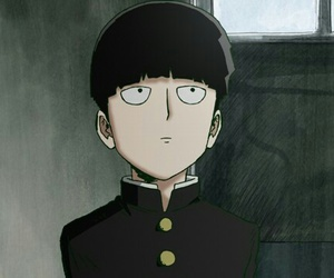 anime, mob, and one image