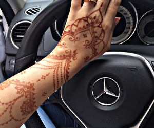 design, hand, and henna image