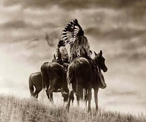 horse and indian image