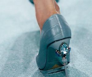heels, catwalk, and fashion image