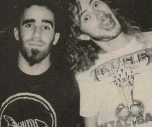 dave mustaine, scott ian, and megadeth image
