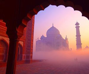 india, taj mahal, and travel image