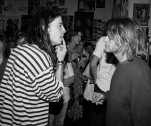 kurt cobain, nirvana, and dave grohl image