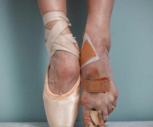 ballet, dance, and feet image