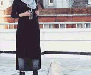 hijab, style, and hijab fashion image