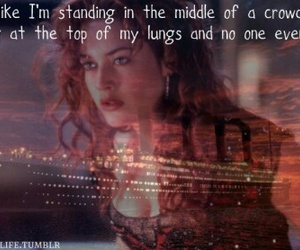 titanic, quote, and love image