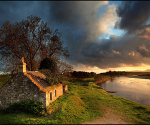 scotland, nature, and house image