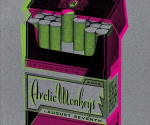 arctic monkeys and cigarette image