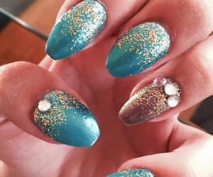 blue, design, and glitter image