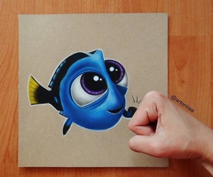 dory, art, and drawing image