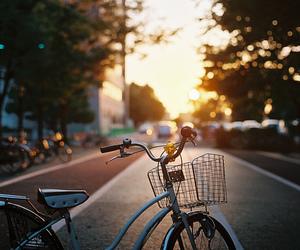bike, photography, and street image