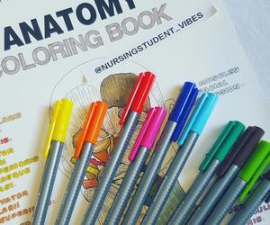 coloring, nurse, and school image