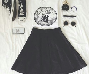 5sos, outfit, and converse image