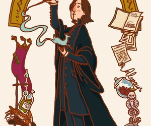 harry potter, art, and snape image