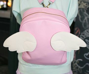 bag, pink, and kawaii image