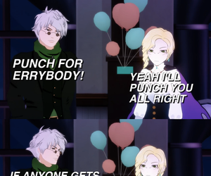 ozpin, rwby, and gynda goodwitch image