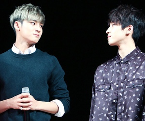 mingyu, Seventeen, and meanie image