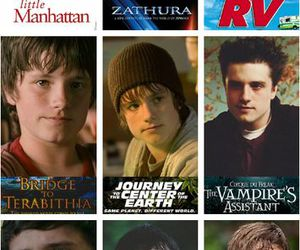 josh hutcherson, the hunger games, and boy image
