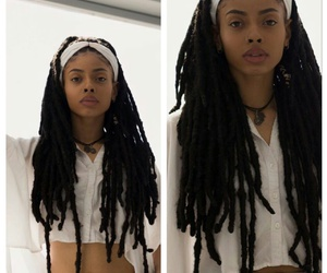 faux and locs image