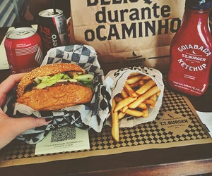 enjoy, food porn, and fries image