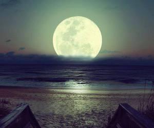 luna, moon, and luna llena image