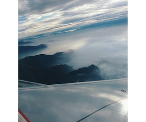 chile, travel, and avión image