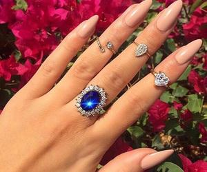 fashion, nails, and moda image