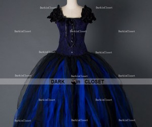 gothic dress, gothic corset dress, and gothic party dress image