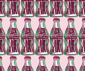 coca cola and pink image