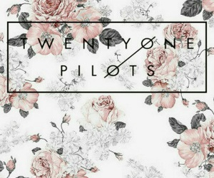 twenty one pilots, wallpaper, and flowers image