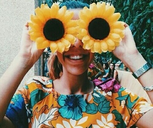 summer, flowers, and indie image