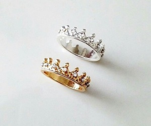 ring, rings, and Queen image