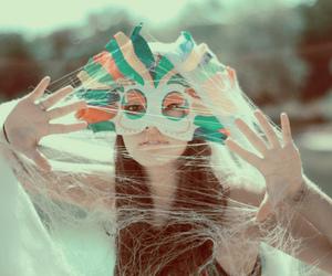 fashion, web, and mask image