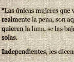 mujeres, frases, and independent image