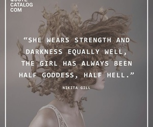 girl, quote, and strength image