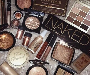 makeup, urban decay, and too faced image