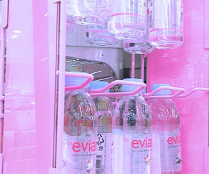 pink and evian image