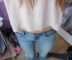 quality, tumblr, and jeans image