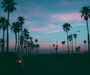 sky, summer, and sunset image