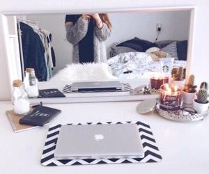 apple, room, and tumblr image