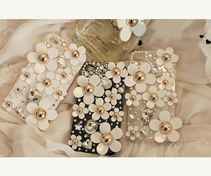 flower, iphone, and casing image
