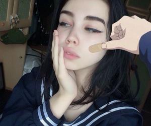 girl, anime, and aesthetic image