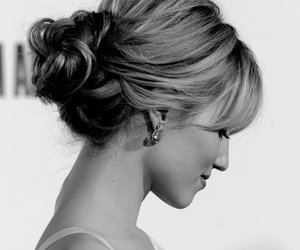 hair, hairstyle, and dianna agron image