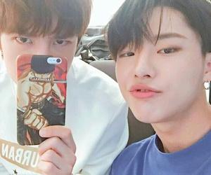 uniq, seungyoun, and yibo image