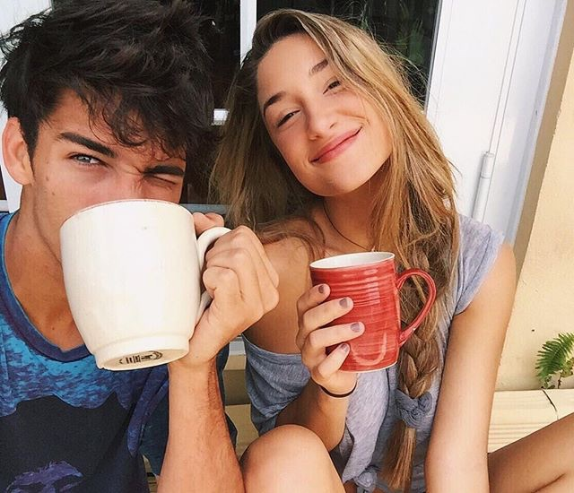 couple, goals, and morning image