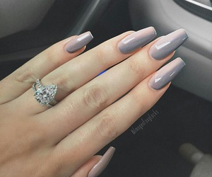 nails, chic, and fashion image