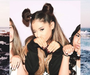 background, wallpaper, and ariana grande image